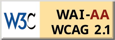 WCAG 2 Level AA logo